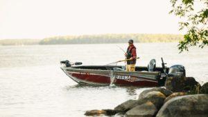 Bateau pêche Alumacraft
